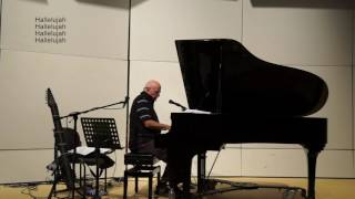 """Basically a cover as performed at AUC October 31, 2016. With a few sound modifications, and with all the stuff that """"went wrong.""""  A few days after the concert, this wonderful artist died, so this also becomes a tribute to him."""