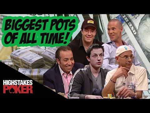 High Stakes Poker Biggest Pots of All Time