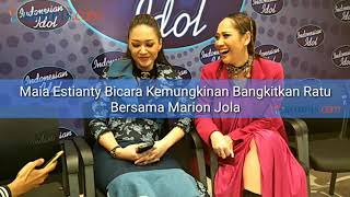 Video Maia Estianty Bicara Kemungkinan Bangkitkan Duo Ratu Bersama Marion Jola MP3, 3GP, MP4, WEBM, AVI, FLV Maret 2018