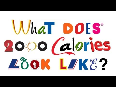 Video What 2000 Calories Looks Like download in MP3, 3GP, MP4, WEBM, AVI, FLV January 2017