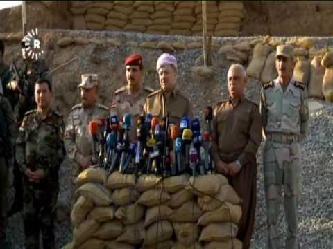 البشمركة الكردية والقوات العراقية تضييق الخناق على داعش في الموصل