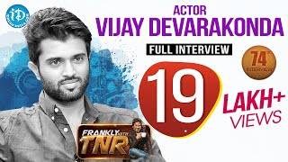 Arjun Reddy Hero Vijay Deverakonda Exclusive Interview