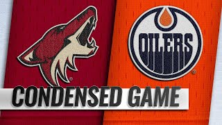 02/19/19 Condensed Game: Coyotes @ Oilers by NHL