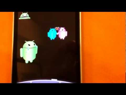 Video of Android vs Apple Valentine LWP
