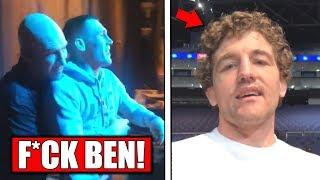 Darren Till, Ben Askren get seperated backstage at UFC London weigh ins! - UFC London weigh in recap