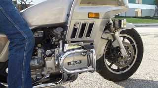 6. 1986 Honda GL 1200 Goldwing