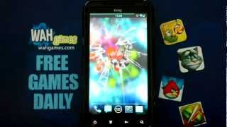 Atom free live wallpaper YouTube video