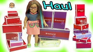 Video Giant Sale Haul - American Girl Doll Clothing, Pets, Food + More - Toy Video MP3, 3GP, MP4, WEBM, AVI, FLV Oktober 2018