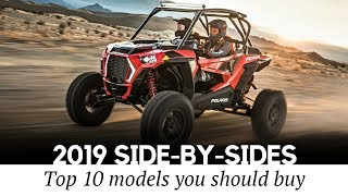 4. 10 Best NEW Side-by-Sides and Sport UTVs to Buy (Specs and Features)