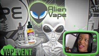 ALIEN VAPE : En 1947 un e-liquide venu de l'espace !