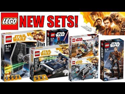 NEW LEGO Star Wars HAN SOLO MOVIE Set Pictures! | 75211 Tie Fighter, 75209 Han's Landspeeder & MORE!