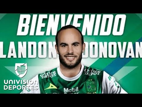 Landon Donovan regresa del retiro jugará con León de México
