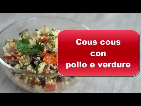 cous cous con pollo e verdure - ricetta