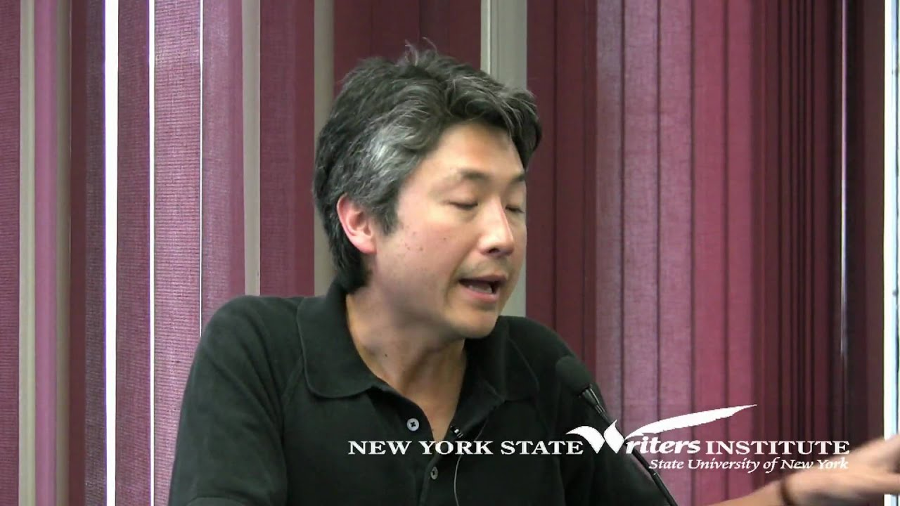Chang-rae Lee at the NYS Writers Institute in 2010