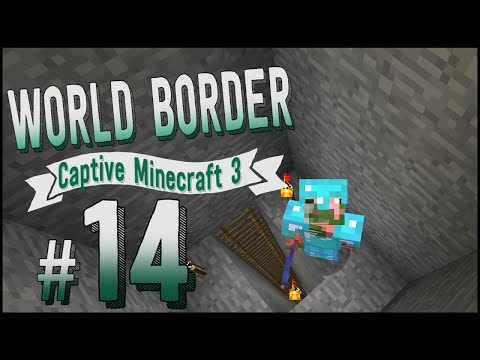 3. - We're stuck in a World Border again, this time it's Captive Minecraft 3! We start in a 1x1 box using the new World Border effect, and it expands half a block in all four directions every time...