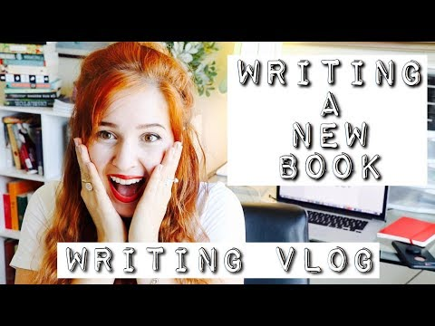 I'M WRITING A NEW BOOK | Writing Vlog #2