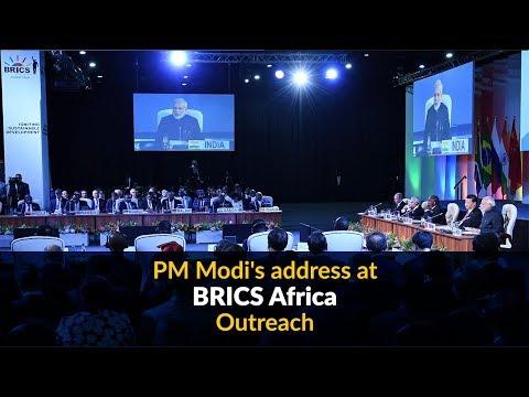 PM Modi's address at BRICS Africa Outreach
