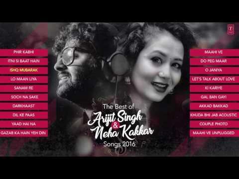 The Best Of Arjit Singh & Neha Kakkar Songs 2016 | Audio | Laughing World