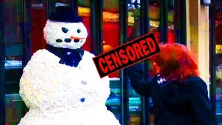 Nonton Scary Snowman Crazy Reactions  Prank 2013- Episode 4 Film Subtitle Indonesia Streaming Movie Download