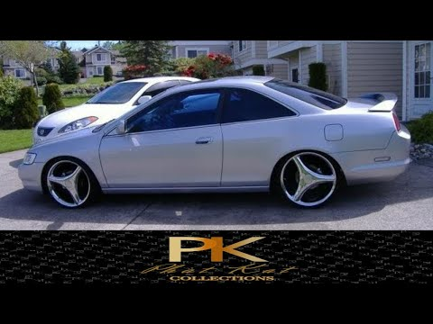 ex rims - 2000 Honda Accord Coupe EX Manual Transmission Leather 20 Inch Rims 3 inch drop Header Dual Exhaust Intake Tint Dual Projector Lenses Dual HID kit 6000k 2 Al...