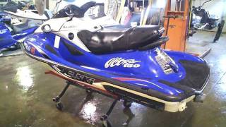 4. 2001 Kawasaki ULTRA 150 PWC 1200 CC LOT 1110A 88 Hours