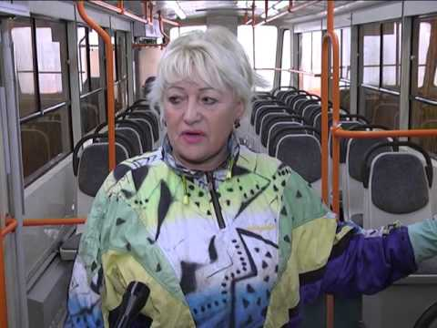 В Самаре в рамках месячника благоустройства моют трамваи