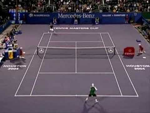 Roger Federer vs Lleyton Hewitt, Houston 2004