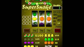 Super Snake Slot Machine + YouTube video