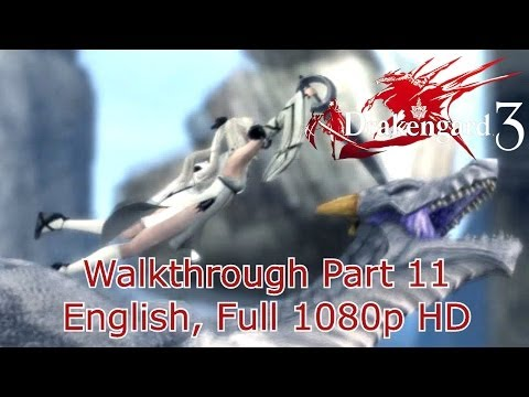 Drakengard 3 (Drag-On Dragoon 3) Walkthrough - Part 11 Chapter 2 Verse 2 {English, Full 1080p HD} (видео)