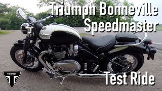 6. 2018 Triumph Bonneville Speedmaster Test Ride