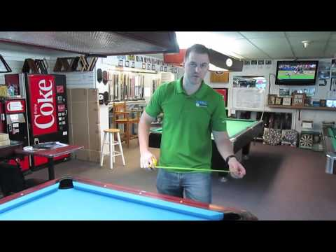How To Measure A Pool Table