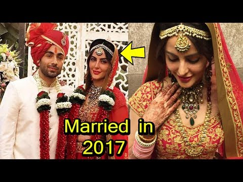 Famous Indian Celebrities Who Got Married Recently in 2017