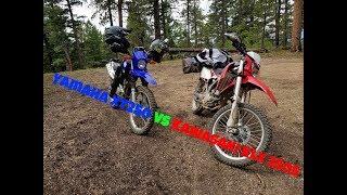 6. Kawasaki KLX250s vs Yamaha XT250 The Budget Dual Sports