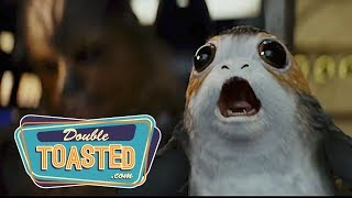 Video STAR WARS THE LAST JEDI OFFICIAL TRAILER #2 REACTION - Double Toasted MP3, 3GP, MP4, WEBM, AVI, FLV Desember 2017
