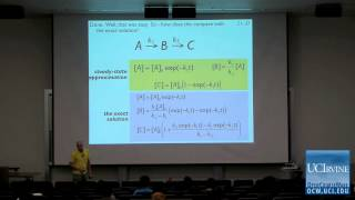 Thermodynamics and Chemical Dynamics 131C. Lecture 21. The Steady State Approximation.