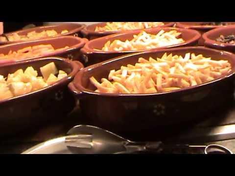 Riu Palace Madeira 4,5 Sterne Canico de Baixo Hotel Buffet Speisesaal Essen Leckerreien