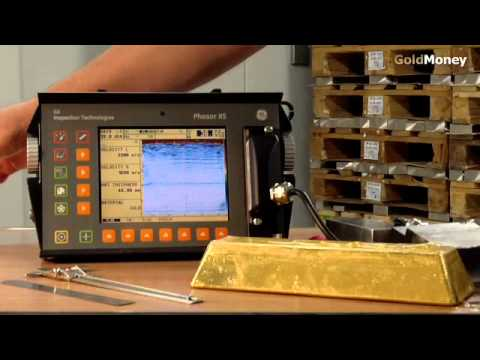 The GoldMoney Standard  Ultrasound gold bar testing