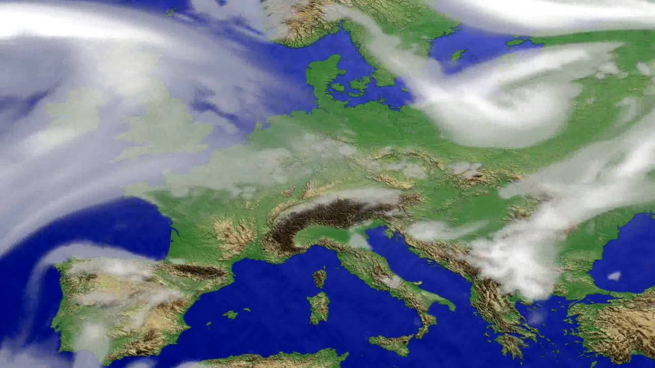 Cloud forecast Europe 2016-07-04