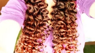 Taylor swift curly/wavy no heat hair tutorial and begging for an Enchanted Music Video - YouTube