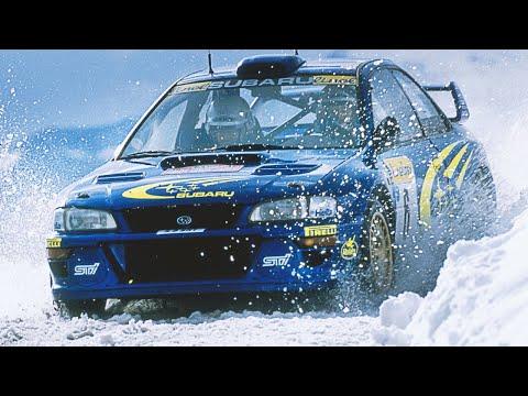 Juha Kankkunen & Richard Burns testing Subaru Impreza WRC - with pure engine sounds