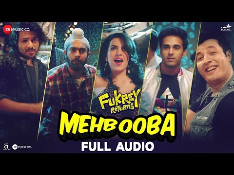 Mehbooba - Full Audio | Fukrey Returns | Prem & Ha
