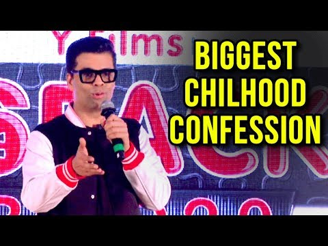 Karan Johar's BIGGEST Childhood Confession | Bolly