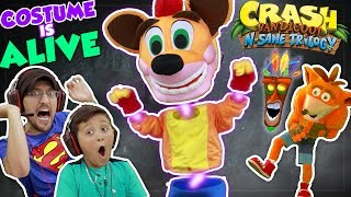 Mike & Duddy are playing Crash Bandicoot the N.Sane Trilogy but not only are the heckled and bothered by a mysterious Crash character in Chase's Corner but another Crash comes to hang out too!==================================Beba Ba Leep Bop Beleeda Bop Pllllhhh!Subscribe: http://bit.ly/1KKE2f1📺Family Friendly Youtube Gaming Channel, FGTEEV:http://www.youtube.com/fgteev📺Skylander Boy and Girl Channel: http://www.youtube.com/theskylanderboyandgirl📺Our Family/Vlog channel, FUNNEL VISION:http://www.youtube.com/funnelvision📺Our Toy Channel: DOH MUCH FUN:http://www.youtube.com/dohmuchfun►Instagram: http://instagram.com/funnelvisionfam►Facebook: https://www.facebook.com/SkylanderKids►T-Shirts: http://skykids.spreadshirt.com/shop/designs►Twitter: http://twitter.com/funnelvisionfamABOUT FGTEEV:FGTeeV is a Family Friendly Gaming Channel for all ages to enjoy but primarily focused to the family audience.  Dad is known as FGTEEV Duddy & Mom, well, we call her whatever but sometimes it's Moomy.  They have 4 children, Chase, Mike, Lex & Shawn!  We play all sorts of games, never anything rated Mature. All gameplays have clean language and good family friendly fun! We play awesome games like Hello Neighbor, Bendy & the Ink Machine, Draw a Stickman, Amazing Frog, Splatoon, Super Mario Bros., Lego Dimensions, Minecraft w/ Mods, Roblox, Plants vs. Zombies 2, FNAF/Five Nights at Freddy's, Garry's Mod, Slither.io, Disney Infinity (Inside Out, Marvel Battlegrounds, Star Wars, Spiderman, Avengers, Zootopia, Disney Frozen & more), PVZ Garden Warfare, Amiibo Games, Pokemon Go and more.  Even our Toy Unboxings are fun to watch with cool special effects & animation.  We have cool original music that we incorporate to a lot of our videos.  We ask that you fans request games too because we like to play new games that we may not play pr hear about without you!  With so many kinds of videos, there is sure to be a bunch that you'll enjoy.  Thanks for checking us out.=============================
