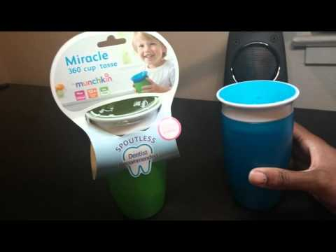 Munchkin Miracle 360 Cup in 3 minutes