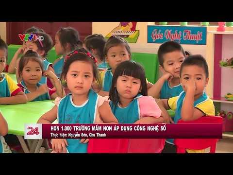 Ứng dụng CNTT của bậc học mầm non tại Hà Nam