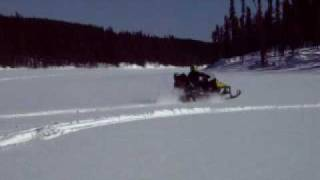 10. Two guys boondocking 2005 ski-doo Skandic wt 550f