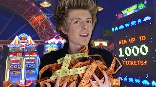 Video OMG I WON THE BIG ARCADE TICKET JACKPOT!! MP3, 3GP, MP4, WEBM, AVI, FLV Oktober 2018