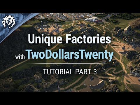 Video Unique Factories with TwoDollarsTwenty | Cities: Skylines Industries Tutorial Part 3 download in MP3, 3GP, MP4, WEBM, AVI, FLV January 2017
