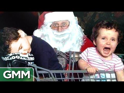 Worst Mall Santa Photos - RANKED (видео)