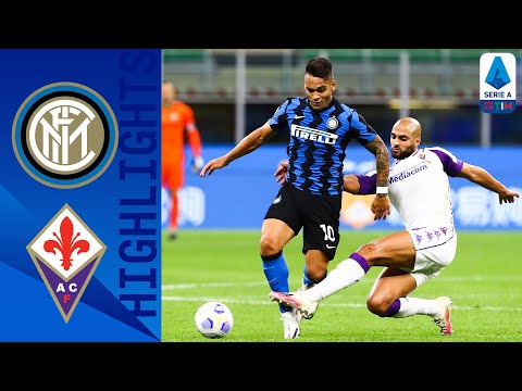 Inter 4-3 Fiorentina   Late Goals From Lukaku and D'Ambrosio Ensure Win for Inter   Serie A TIM